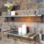 Industrial Style Shelves buy shop online P&P from arkvintage. Made from wood and metal great look, see pictures for more detail. There are two sizes available.