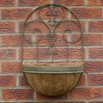 Wall Planter With Liner garden metal online and in store Camberley Surrey