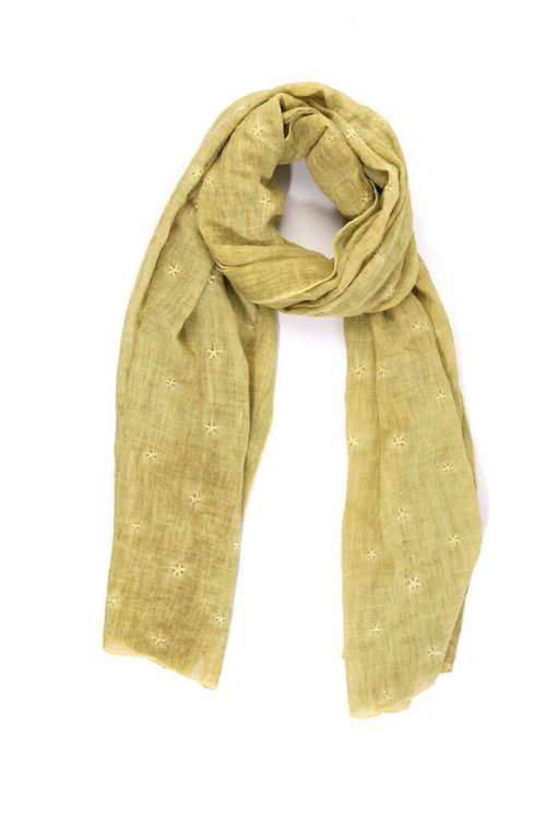 Scarf With Star Designs MSH from arkvintage. 4 Scarves available in different colours and star patterns. Available online and in store, Camberley Surrey. Price includes P&P.
