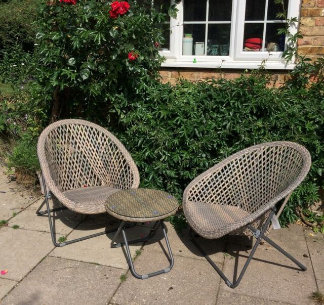 Garden Furniture Table And Chair Set Ark Vintage Vintage Retro
