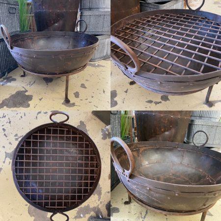 fire pit kadai bowls
