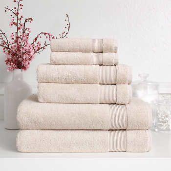 семеен комплект луксозни хавлиени кърпи