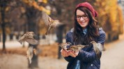 badfon.ru - birds girl