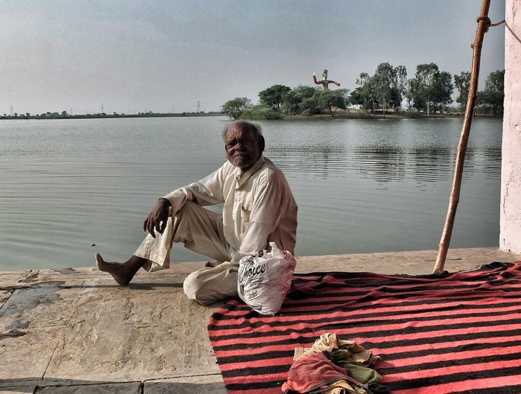 Morgen in Indien