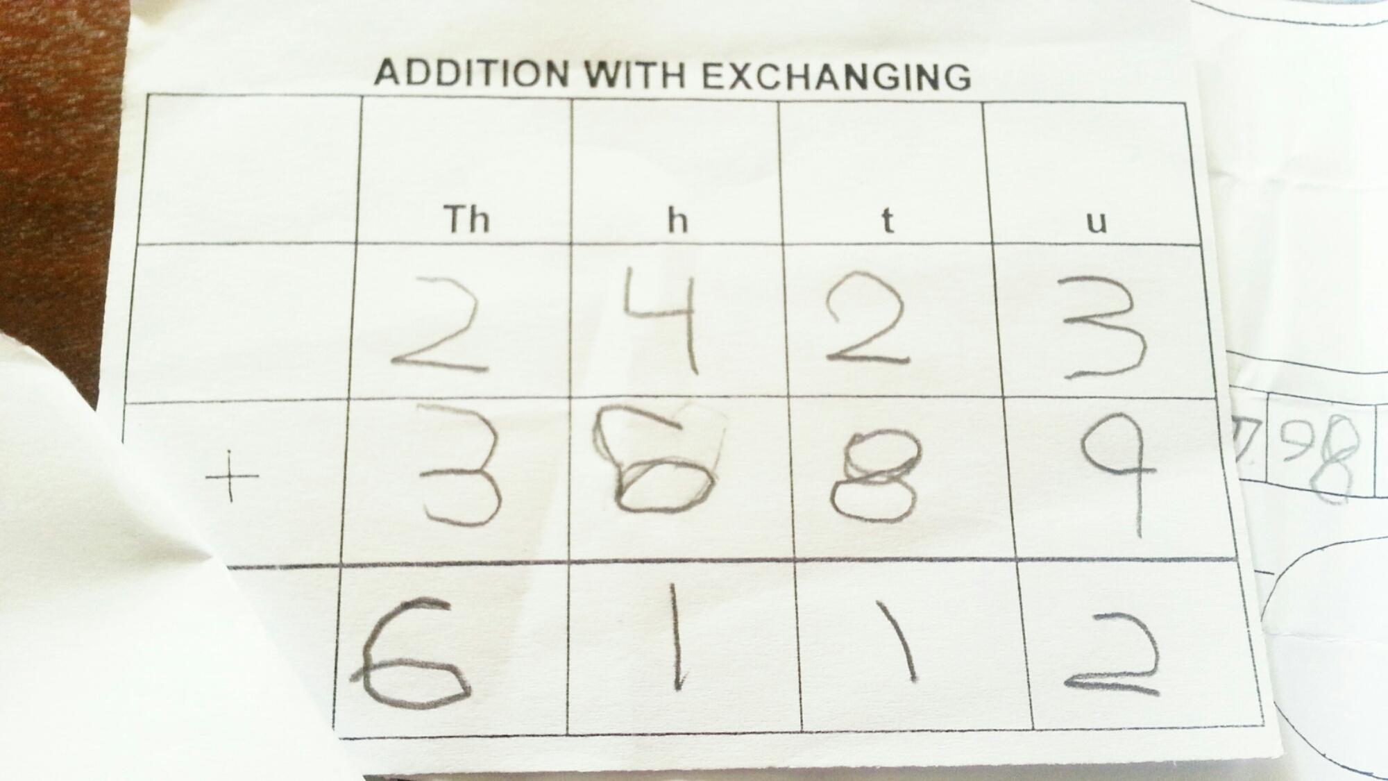His 1st Calculator