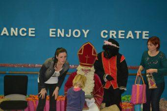 Sinterklaas bij juf Emily