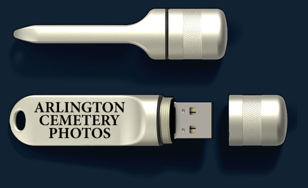 An image of our USB Thumb Drive that contain videos or photos