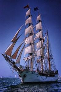 Carol Arnolde - Europa Tall Ship