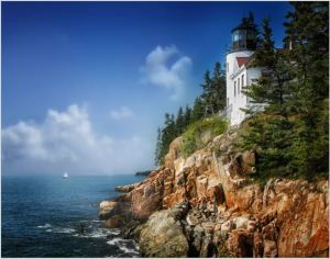 Larry Arends - Bass Harbor Light House