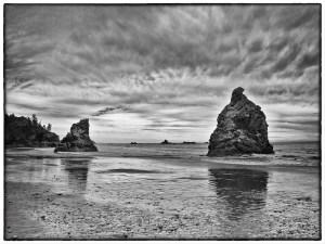 Beach Sentinals - Mike Garber