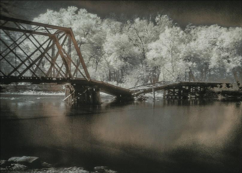 """""""Broken Bridge"""" by Walt Hoffman"""