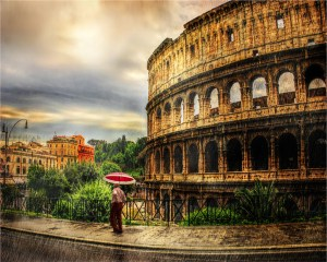 """Larry Arends - """"Rome in the Rain"""""""