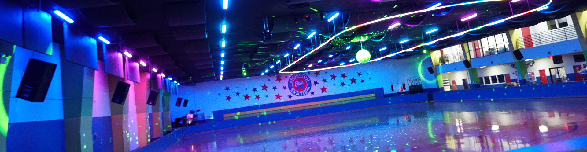 roller skating facility arlington texas