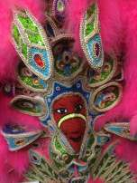 Detail from Big Chief costume.