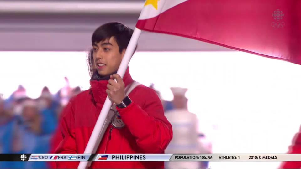 Michael Christian Martinez banners Philippines in 2014 Winter Olympics (1/6)