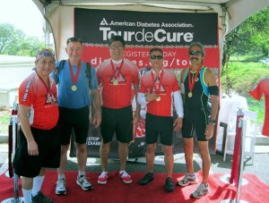 2015 Tour de Cure Hawaii: ARMAHI Team