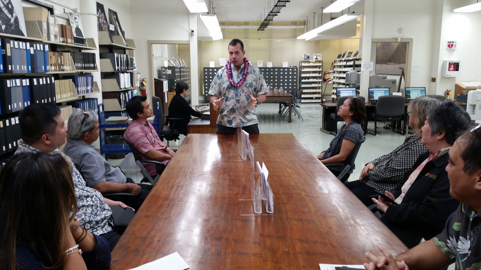 Hawai`i State Digital Archives, Digital Preservation and Digitization Projects Tour