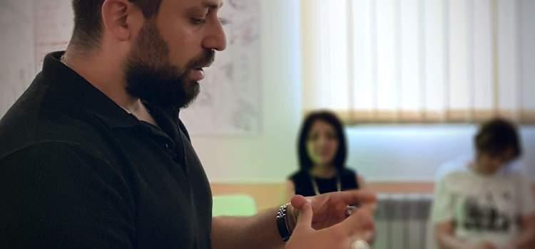 Workshop at Armenian PR Association