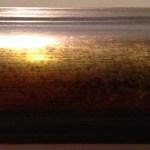22K GOLD, ANTIQUE BRONZE, DARK