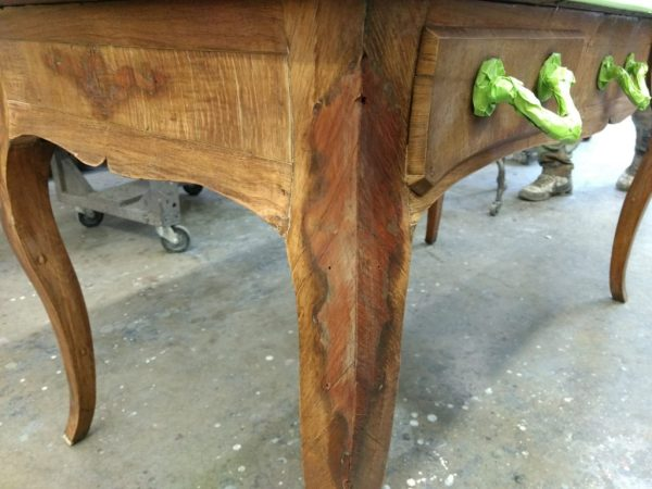 Restoring wood furniture finish