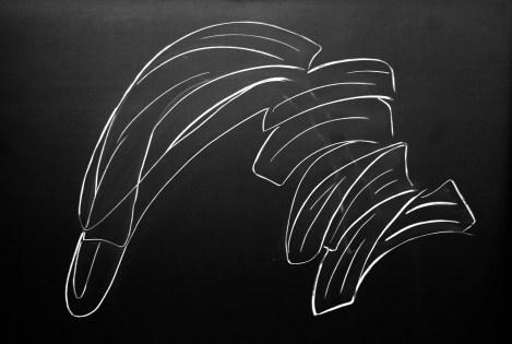 Papke 001 | Photo of Chalk on Slate