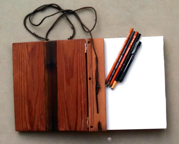 Reclaimed Wood Sketch Book