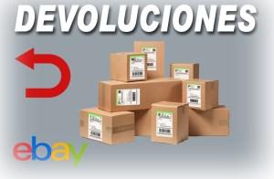 Devolución de productos en ebay
