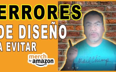 Cómo Evitar Errores De Diseño Grafico en Merch by Amazon
