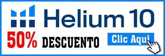 Helium 10 Descuento 50 %