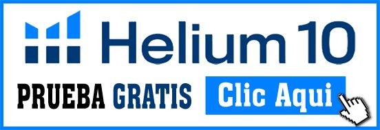 Helium 10 Prueba Gratis