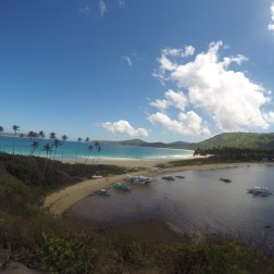 Twin Beaches, vista desde el viewpoint