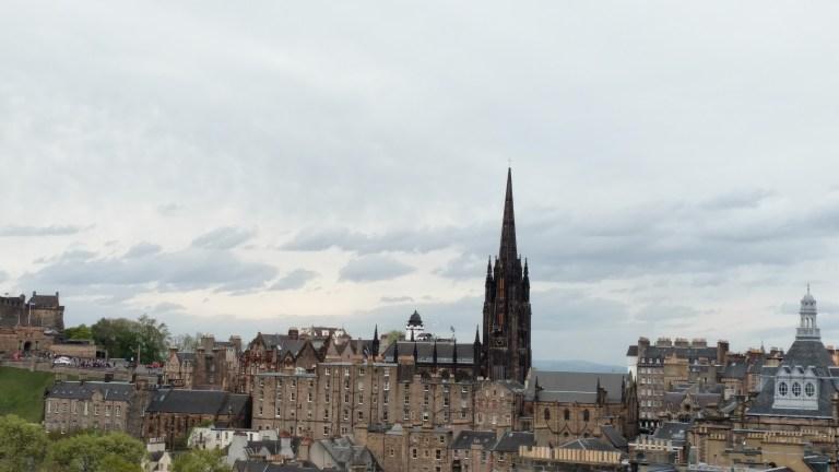 Qué ver en Edimburgo: Vista desde la terraza del Museo Nacional de Escocia
