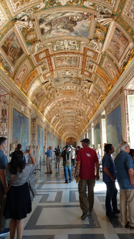 Sala de Mapas, Museo del Vaticano