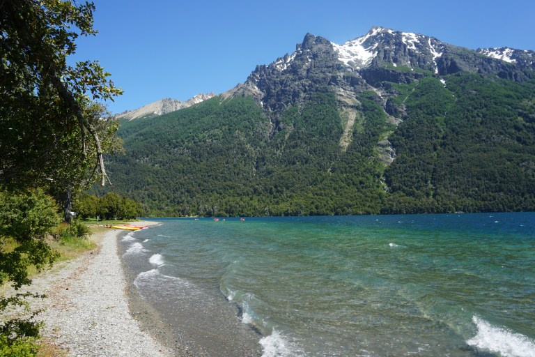 Camping Baqueanos, Lago Gutiérrez