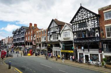 El centro de Chester