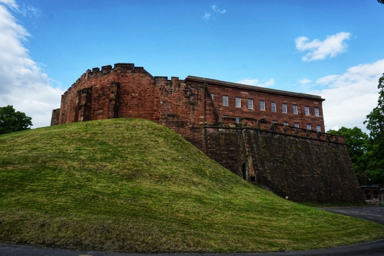 El Castillo de Chester, otro punto que ver en Chester
