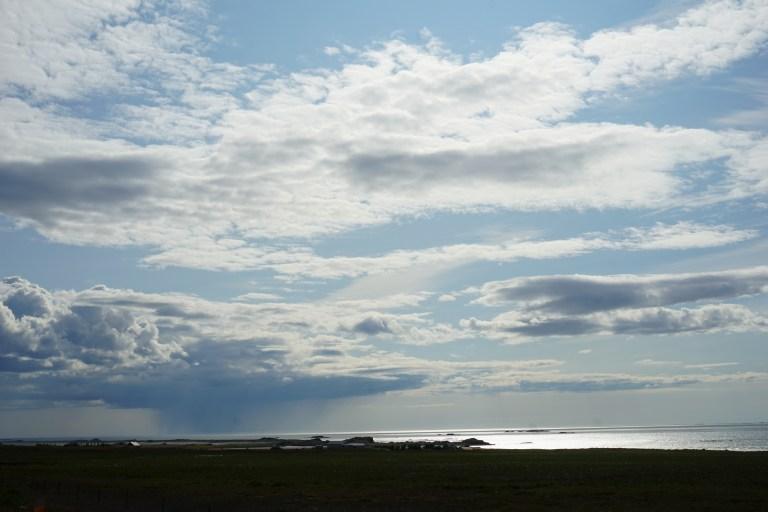 Cielos pintados en Islandia