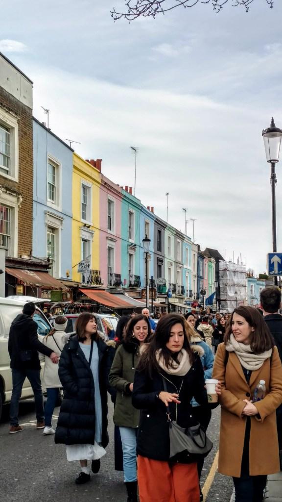 Portobello Market, qué hacer en Londres