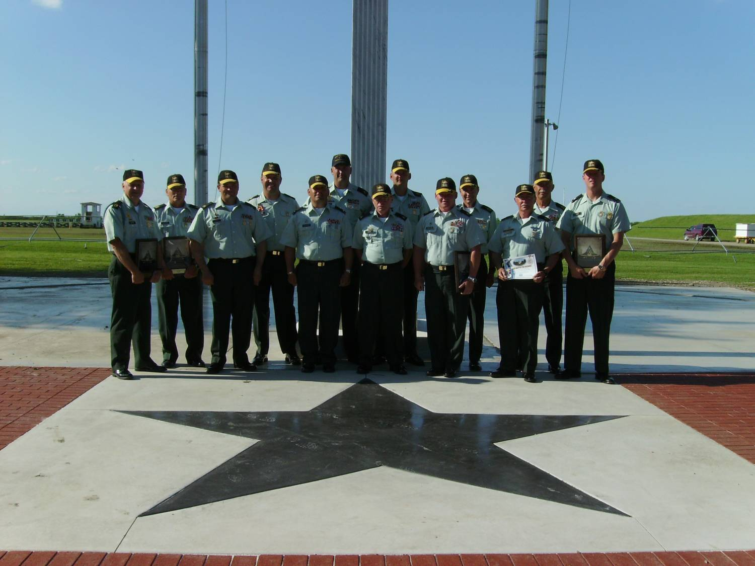 US Army Reserve Service Pistol Team at Camp Perry