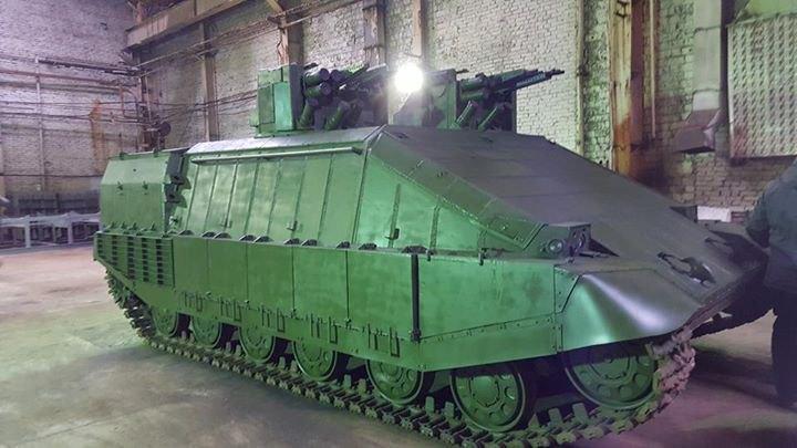 Azovets - rival tanku Armata