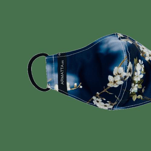 mascarilla flor cerezo 5