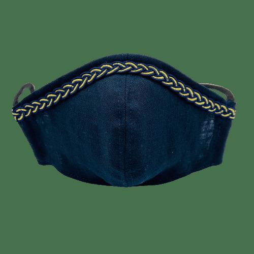 Mascarilla comunión Almirante Azul 4