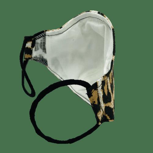 Mascarilla estampado leopardo 6