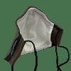 Mascarilla lino marrón ARMATTA 6