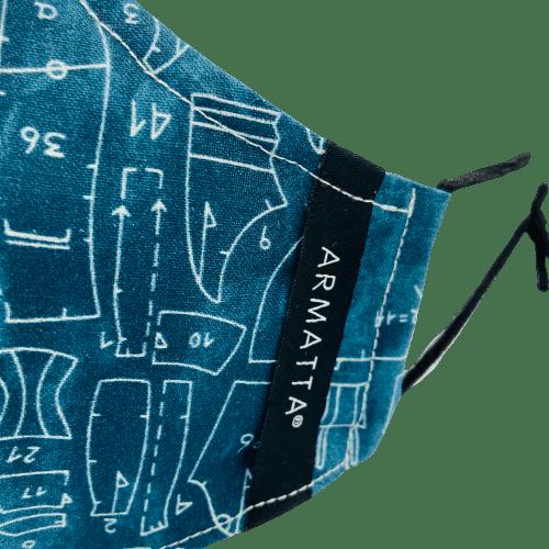 Mascarilla Otoño 2020 modista ARMATTA 3