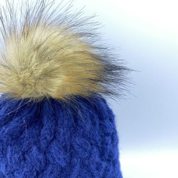 Gorro alpaca azul marino ARMATTA 2