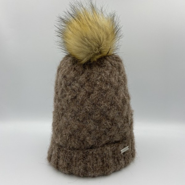 Gorro alpaca marrón ARMATTA 2