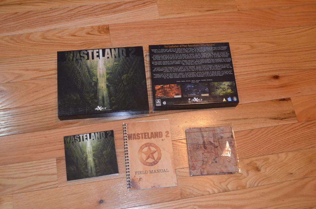 Wasteland 2 (boxed copy)