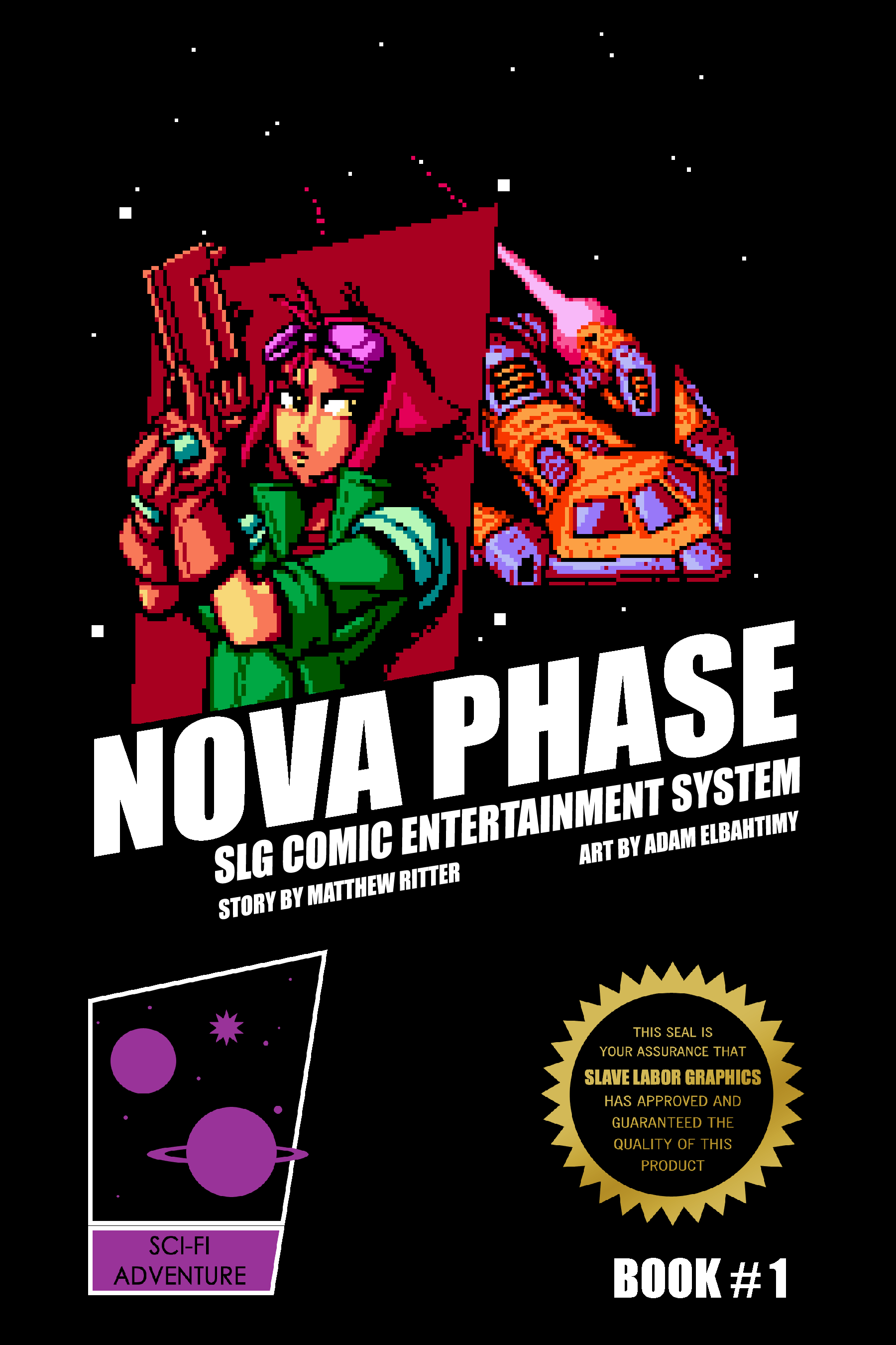 Nova Phase, a new digital comic inspired by 16-bit videogames