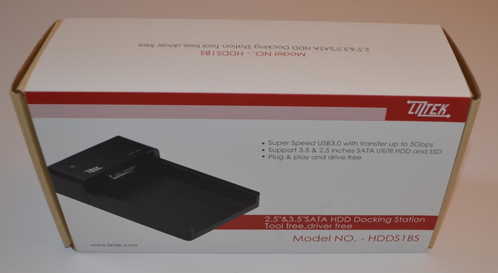 The Liztek HDDS1BS is professionally packaged.